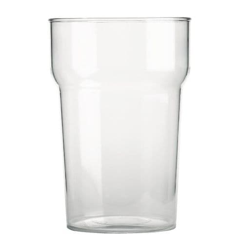 BBP Polycarbonate Nonic Pint Glasses 570ml CE Marked (Pack of 48)
